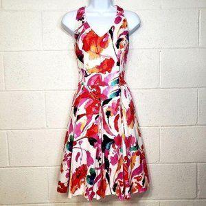 Ralph Lauren Black Label Floral Halter Dress
